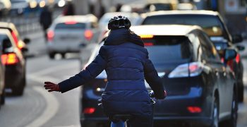 Be Careful Out There – Dark Evenings and Cyclists are a Lawsuit Waiting to Happen